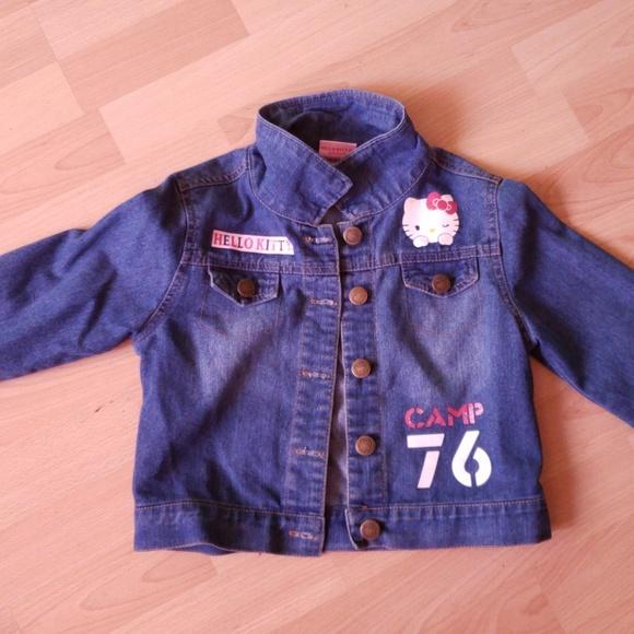 425008fd0 Hello Kitty Jackets & Coats | Jean Jacket | Poshmark